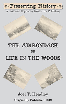 The Adirondack, or Life in the Woods (1849) by Joel T. Headley